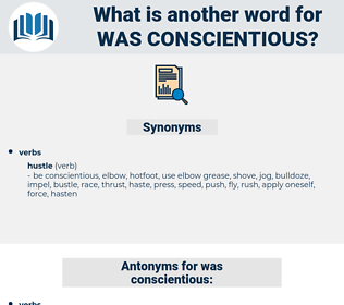 was conscientious, synonym was conscientious, another word for was conscientious, words like was conscientious, thesaurus was conscientious
