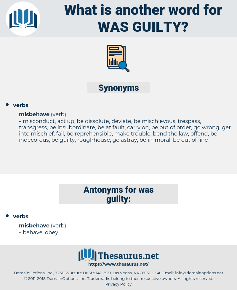was guilty, synonym was guilty, another word for was guilty, words like was guilty, thesaurus was guilty