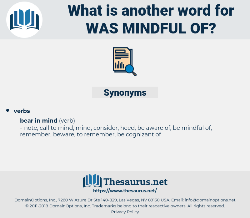 was mindful of, synonym was mindful of, another word for was mindful of, words like was mindful of, thesaurus was mindful of