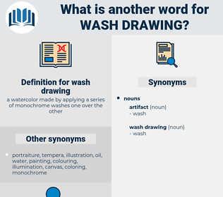 wash drawing, synonym wash drawing, another word for wash drawing, words like wash drawing, thesaurus wash drawing