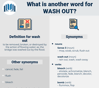 wash out, synonym wash out, another word for wash out, words like wash out, thesaurus wash out