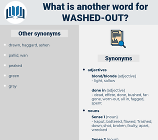 washed out, synonym washed out, another word for washed out, words like washed out, thesaurus washed out