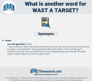 wast a target, synonym wast a target, another word for wast a target, words like wast a target, thesaurus wast a target