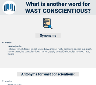 wast conscientious, synonym wast conscientious, another word for wast conscientious, words like wast conscientious, thesaurus wast conscientious