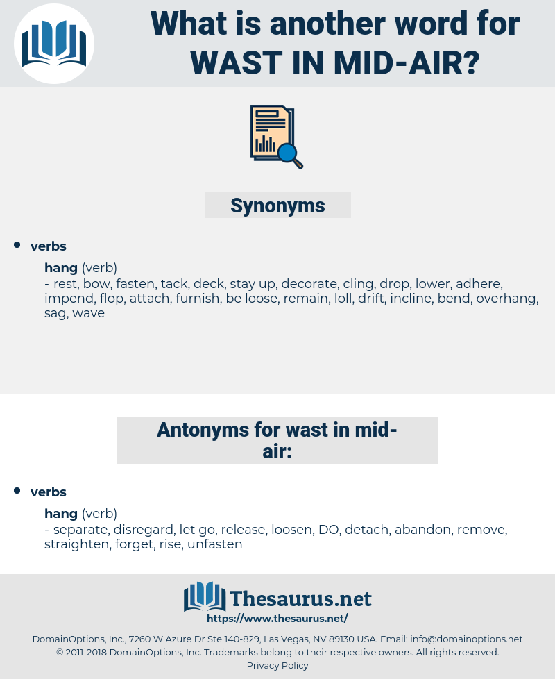wast in mid-air, synonym wast in mid-air, another word for wast in mid-air, words like wast in mid-air, thesaurus wast in mid-air