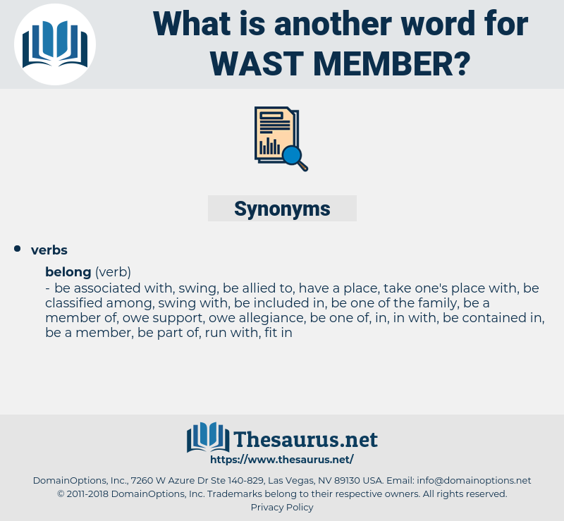 wast member, synonym wast member, another word for wast member, words like wast member, thesaurus wast member