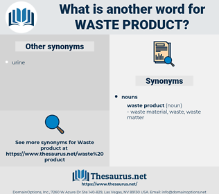 waste product, synonym waste product, another word for waste product, words like waste product, thesaurus waste product