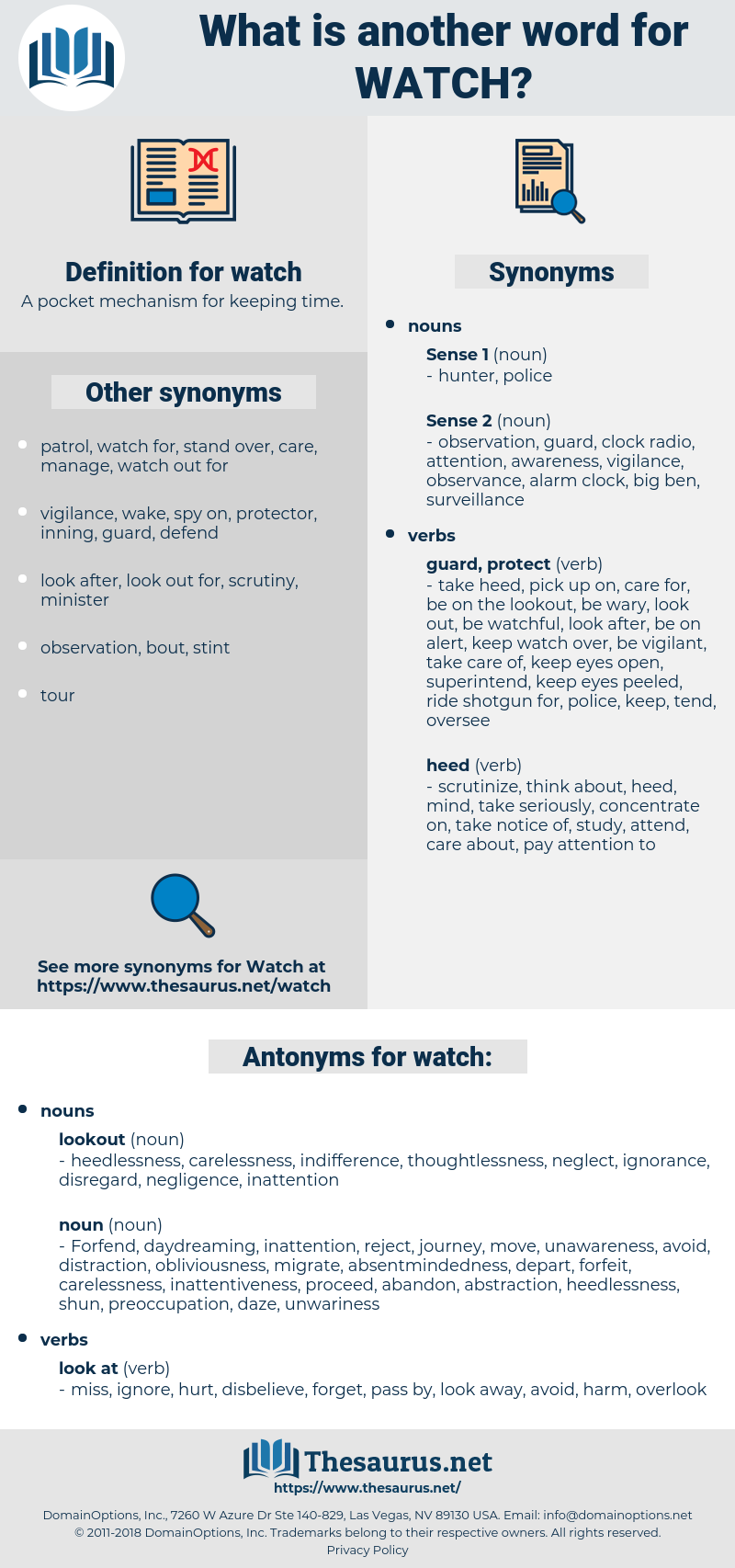 watch, synonym watch, another word for watch, words like watch, thesaurus watch