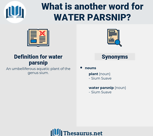 water parsnip, synonym water parsnip, another word for water parsnip, words like water parsnip, thesaurus water parsnip