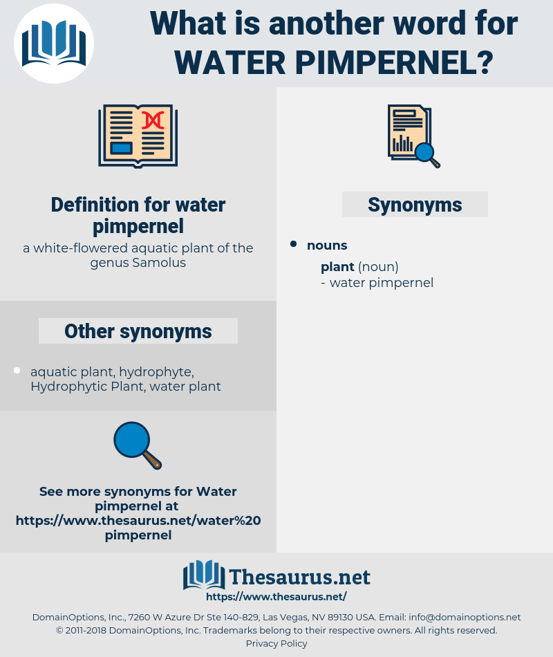 water pimpernel, synonym water pimpernel, another word for water pimpernel, words like water pimpernel, thesaurus water pimpernel