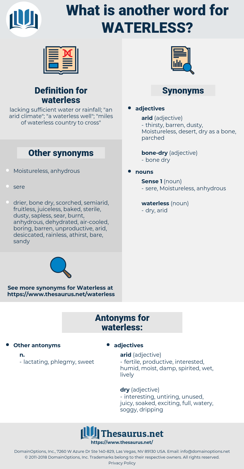 waterless, synonym waterless, another word for waterless, words like waterless, thesaurus waterless