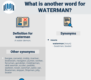 waterman, synonym waterman, another word for waterman, words like waterman, thesaurus waterman