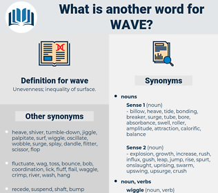 wave, synonym wave, another word for wave, words like wave, thesaurus wave