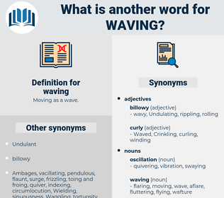 waving, synonym waving, another word for waving, words like waving, thesaurus waving