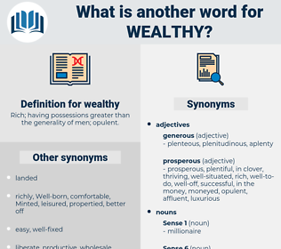 wealthy, synonym wealthy, another word for wealthy, words like wealthy, thesaurus wealthy