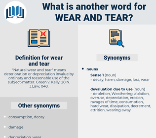 wear and tear, synonym wear and tear, another word for wear and tear, words like wear and tear, thesaurus wear and tear
