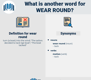 wear round, synonym wear round, another word for wear round, words like wear round, thesaurus wear round