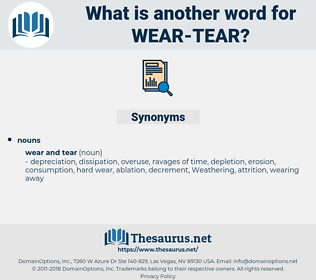 wear-tear, synonym wear-tear, another word for wear-tear, words like wear-tear, thesaurus wear-tear