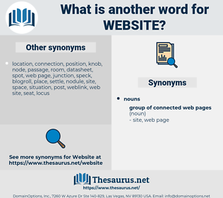 website, synonym website, another word for website, words like website, thesaurus website