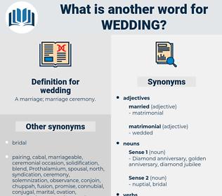 wedding, synonym wedding, another word for wedding, words like wedding, thesaurus wedding