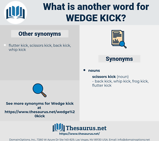 wedge kick, synonym wedge kick, another word for wedge kick, words like wedge kick, thesaurus wedge kick