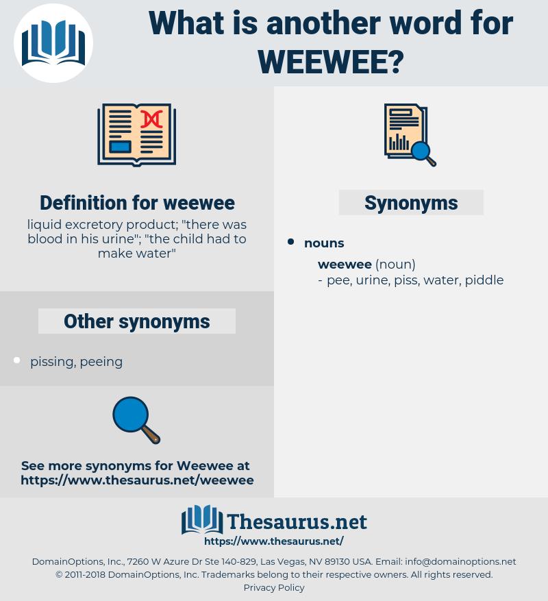 weewee, synonym weewee, another word for weewee, words like weewee, thesaurus weewee
