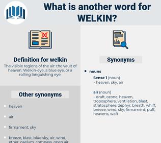 welkin, synonym welkin, another word for welkin, words like welkin, thesaurus welkin