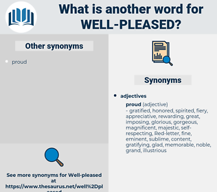 well-pleased, synonym well-pleased, another word for well-pleased, words like well-pleased, thesaurus well-pleased