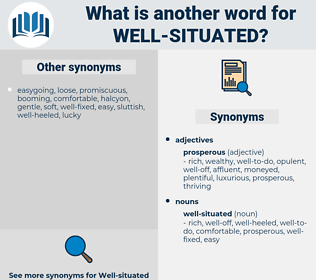 well-situated, synonym well-situated, another word for well-situated, words like well-situated, thesaurus well-situated