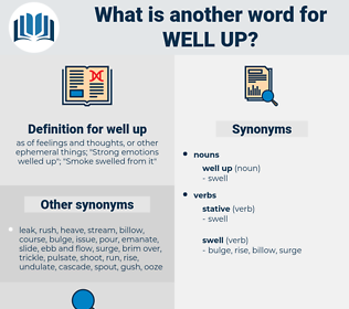 well up, synonym well up, another word for well up, words like well up, thesaurus well up