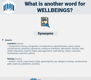 wellbeings, synonym wellbeings, another word for wellbeings, words like wellbeings, thesaurus wellbeings
