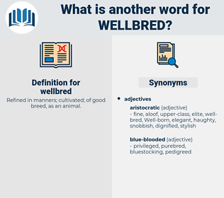 wellbred, synonym wellbred, another word for wellbred, words like wellbred, thesaurus wellbred