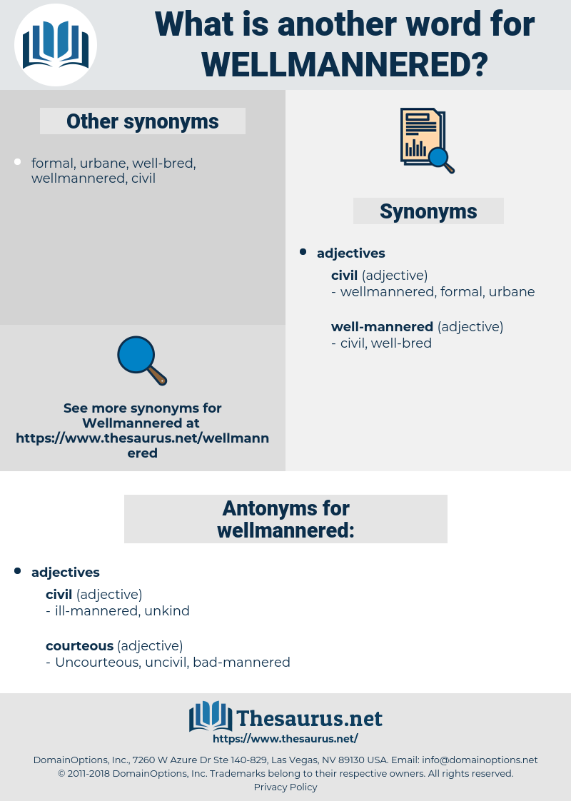 wellmannered, synonym wellmannered, another word for wellmannered, words like wellmannered, thesaurus wellmannered