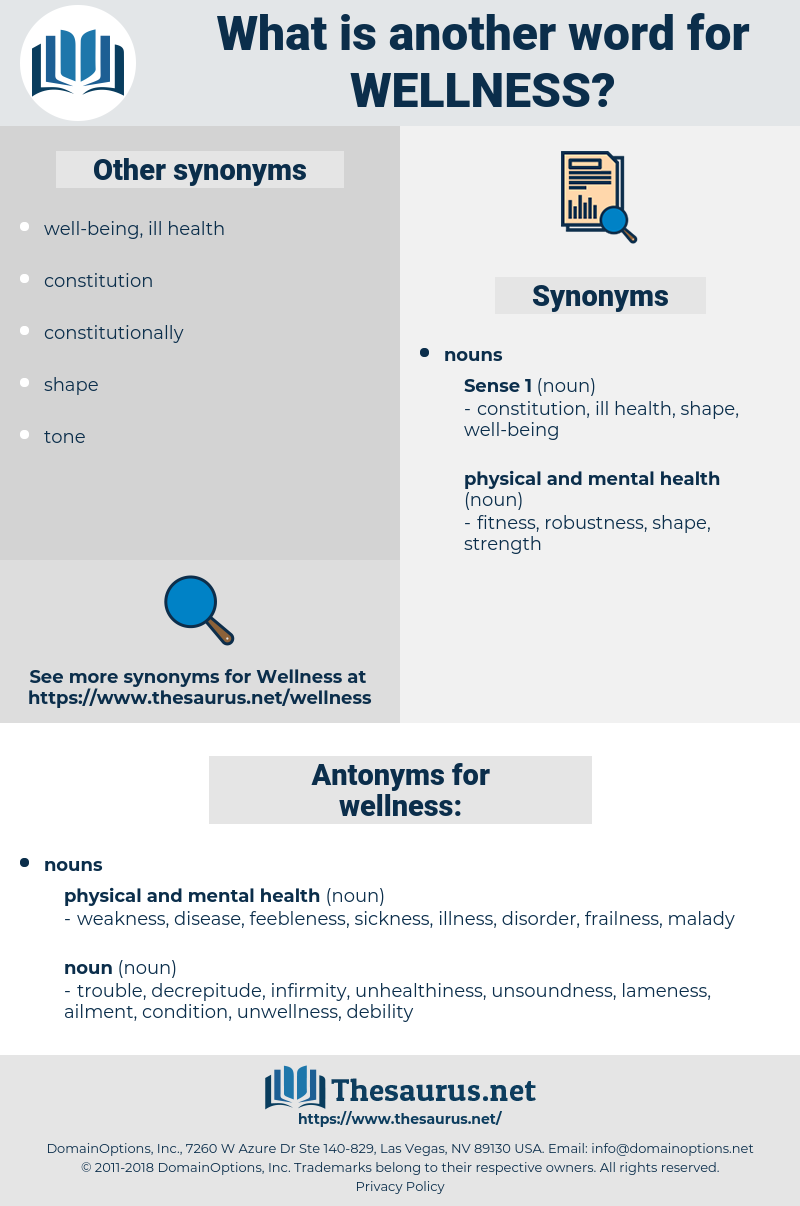 wellness, synonym wellness, another word for wellness, words like wellness, thesaurus wellness