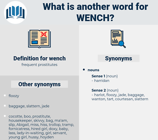 wench, synonym wench, another word for wench, words like wench, thesaurus wench