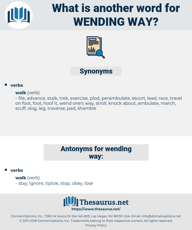 wending way, synonym wending way, another word for wending way, words like wending way, thesaurus wending way