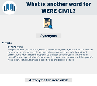were civil, synonym were civil, another word for were civil, words like were civil, thesaurus were civil