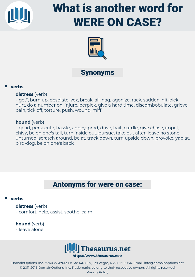 were on case, synonym were on case, another word for were on case, words like were on case, thesaurus were on case