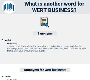 wert business, synonym wert business, another word for wert business, words like wert business, thesaurus wert business