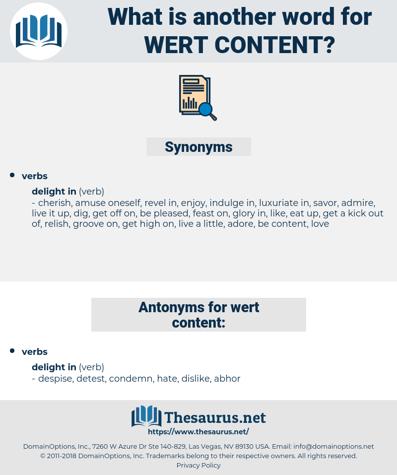 wert content, synonym wert content, another word for wert content, words like wert content, thesaurus wert content