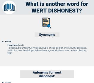 wert dishonest, synonym wert dishonest, another word for wert dishonest, words like wert dishonest, thesaurus wert dishonest