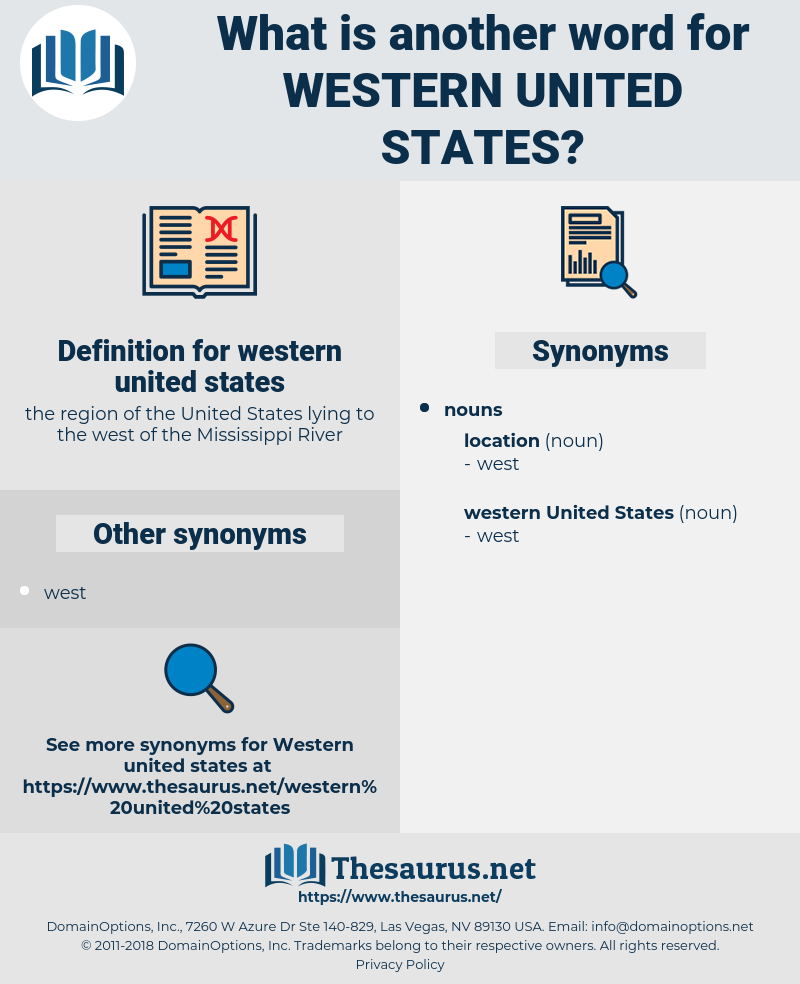 western united states, synonym western united states, another word for western united states, words like western united states, thesaurus western united states