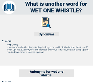 wet one whistle, synonym wet one whistle, another word for wet one whistle, words like wet one whistle, thesaurus wet one whistle