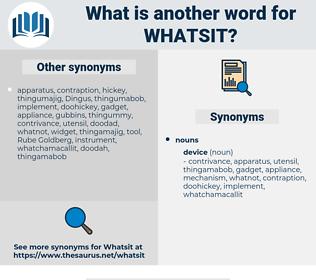 whatsit, synonym whatsit, another word for whatsit, words like whatsit, thesaurus whatsit