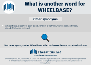 wheelbase, synonym wheelbase, another word for wheelbase, words like wheelbase, thesaurus wheelbase