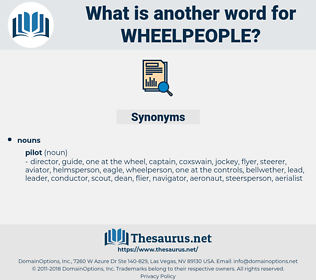 wheelpeople, synonym wheelpeople, another word for wheelpeople, words like wheelpeople, thesaurus wheelpeople