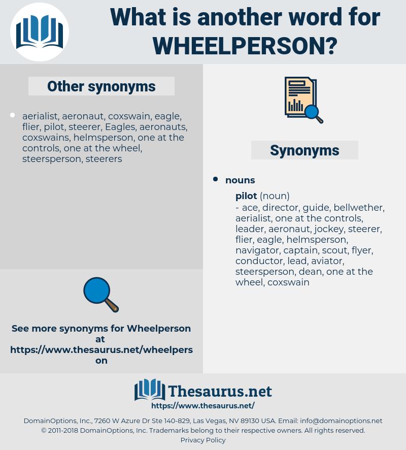 wheelperson, synonym wheelperson, another word for wheelperson, words like wheelperson, thesaurus wheelperson
