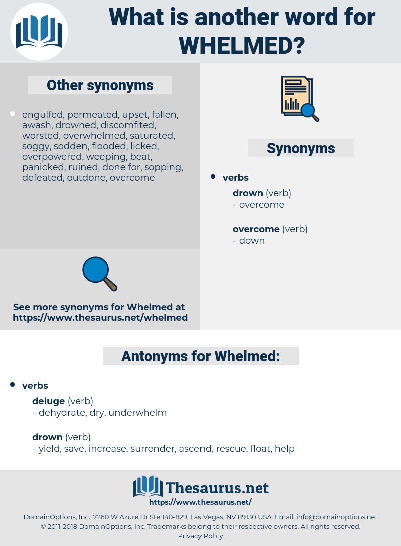 Whelmed, synonym Whelmed, another word for Whelmed, words like Whelmed, thesaurus Whelmed