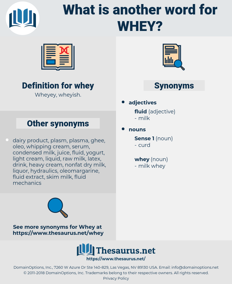whey, synonym whey, another word for whey, words like whey, thesaurus whey