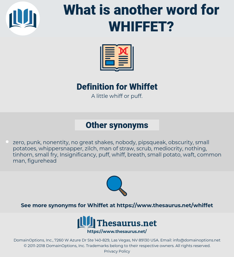 Whiffet, synonym Whiffet, another word for Whiffet, words like Whiffet, thesaurus Whiffet